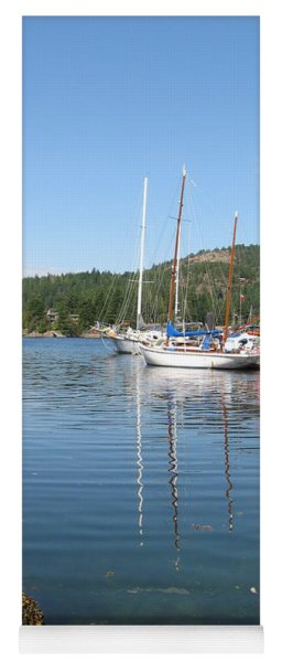 Sail Boats At Pender Horbour Yoga Mat