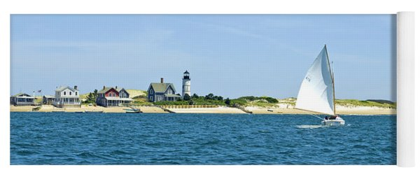 Sailing Around Barnstable Harbor Yoga Mat