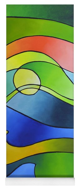 Sailing Away, Canvas Three Yoga Mat
