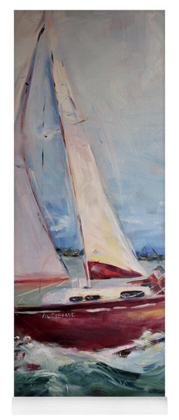 Sailing Away Yoga Mat