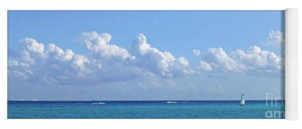 Sailing Blue Seas Yoga Mat