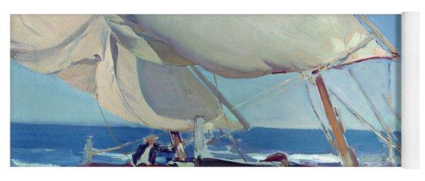 Sailing Boats Yoga Mat
