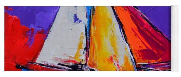 Sails Colors Yoga Mat