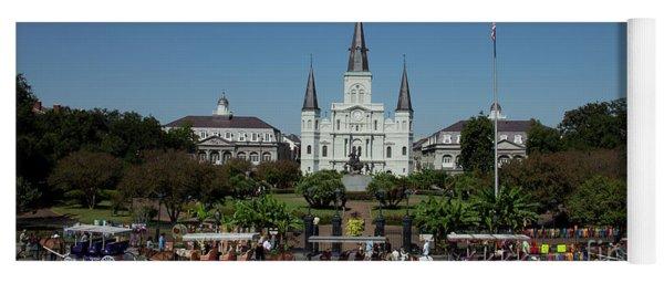 Saint Lewis Cathedral French Quarter New Orleans, La Yoga Mat