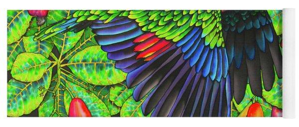 Saint Lucia Amazona Versicolor Parrot Yoga Mat