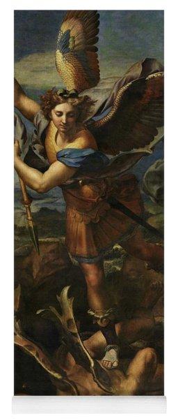 Saint Michael Defeats Satan Yoga Mat