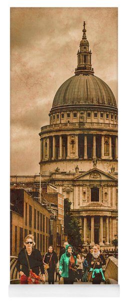 London, England - Saint Paul's In The City Yoga Mat