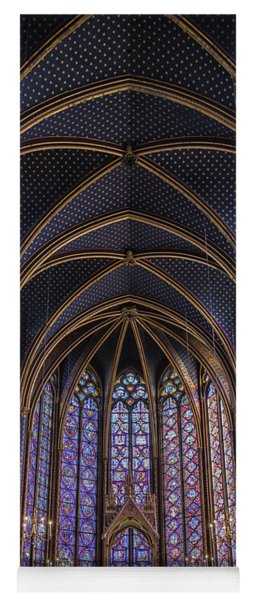 Sainte Chapelle Stained Glass Paris Yoga Mat