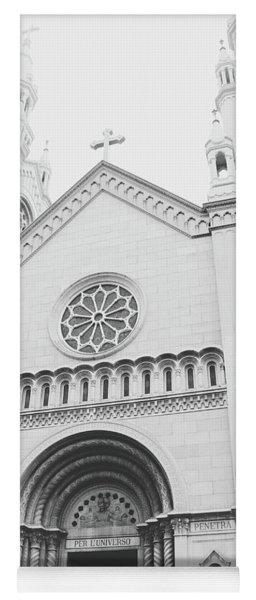 Saints Peter And Paul Church 2-  By Linda Woods Yoga Mat