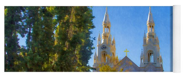 Saints Peter And Paul Church Yoga Mat