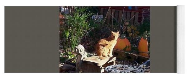 Salem In The Garden Yoga Mat