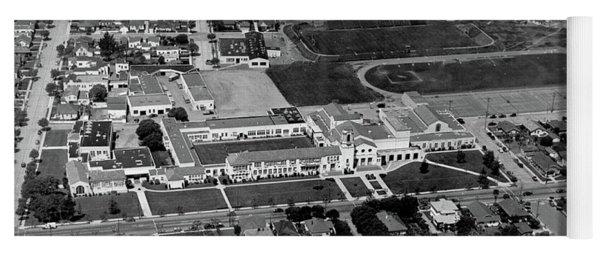 Salinas High School 726 S. Main Street, Salinas Circa 1950 Yoga Mat