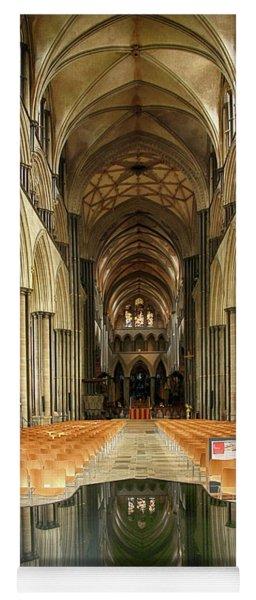 Salisbury Cathedral Yoga Mat