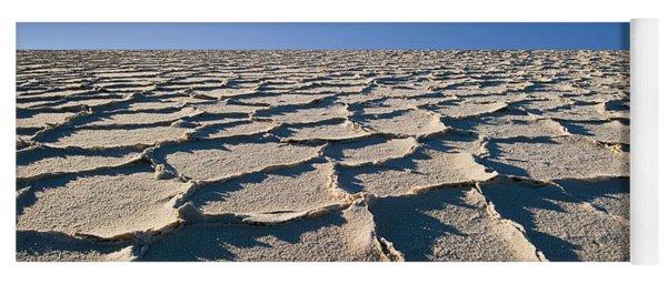 Salt Flats Death Valley National Park Yoga Mat