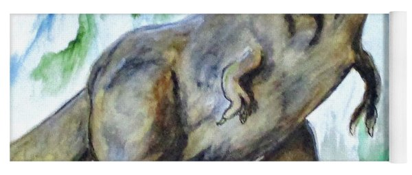Salvatori Dinosaur Yoga Mat