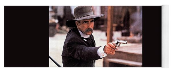 Sam Elliot As Virgil Earp Mescal Arizona Tombstone Film 1993 Yoga Mat