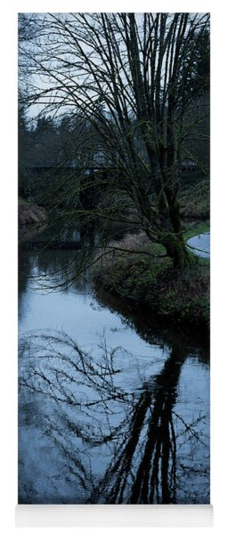 Sammamish River At Dusk Yoga Mat
