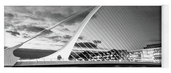 Samuel Beckett Bridge In Bw Yoga Mat