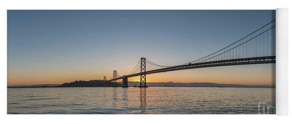 San Francisco Bay Brdige Just Before Sunrise Yoga Mat