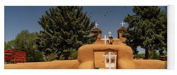 San Francisco De Assisi Mission Church Taos New Mexico Yoga Mat