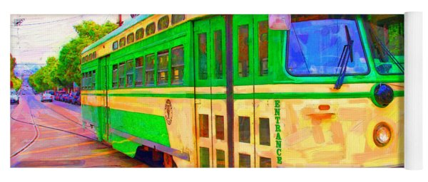 San Francisco F-line Trolley Yoga Mat