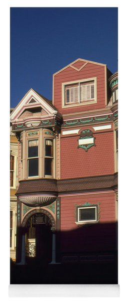 San Francisco Haight Ashbury - Photo Art Yoga Mat