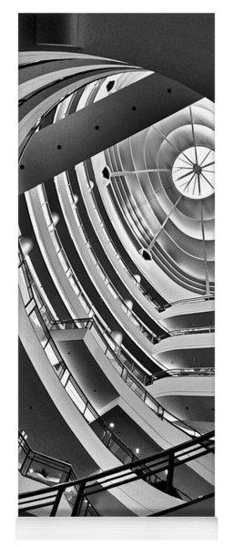San Francisco - Nordstrom Department Store Architecture Yoga Mat