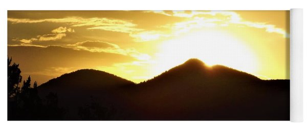 San Francisco Peaks At Sunset Yoga Mat