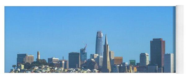San Francisco Skyline 2017 Yoga Mat