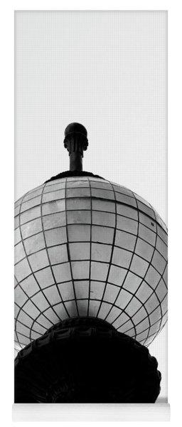 San Francisco Street Light- By Linda Woods Yoga Mat