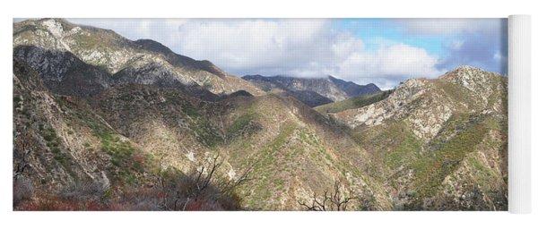 San Gabriel Mountains National Monument Yoga Mat