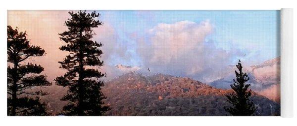 San Jacinto Mountains 2 - California Yoga Mat