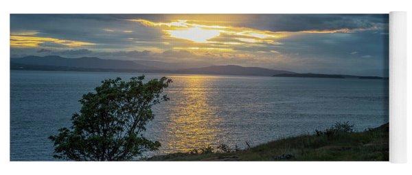 San Juan Island Sunset Yoga Mat