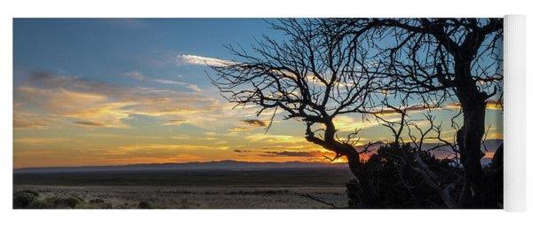 San Luis Valley Sunset - Colorado Yoga Mat