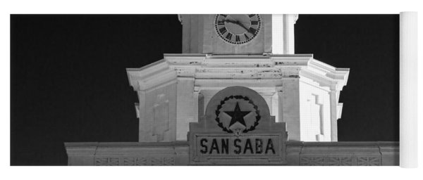 San Saba Couthouse Yoga Mat