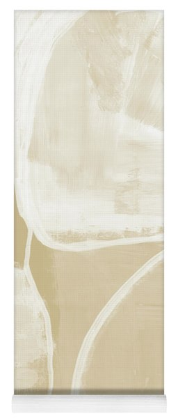 Sand And Stone 5- Contemporary Abstract Art By Linda Woods Yoga Mat