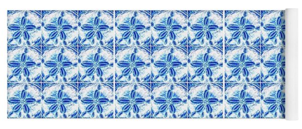 Sand Dollar Delight Pattern 1 Yoga Mat