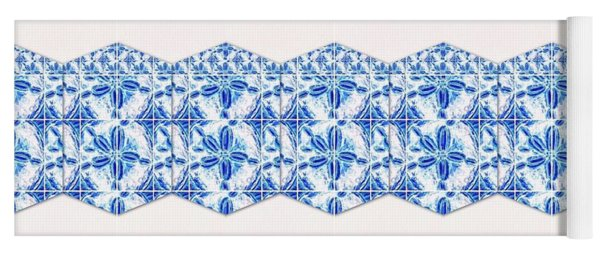 Sand Dollar Delight Pattern 4 Yoga Mat