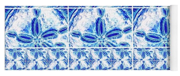 Sand Dollar Delight Pattern 6 Yoga Mat