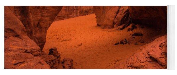 Sand Dune Arch - Arches National Park - Utah Yoga Mat