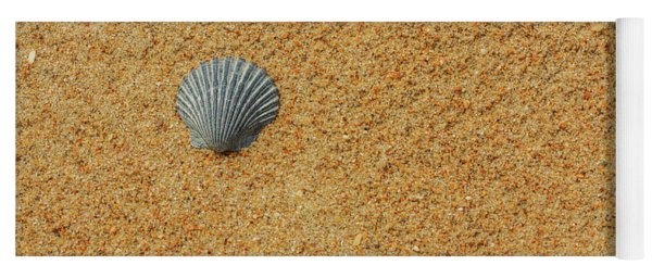 Sand Shells And Sea Yoga Mat