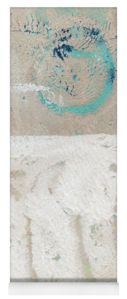 Sandcastles- Abstract Painting Yoga Mat
