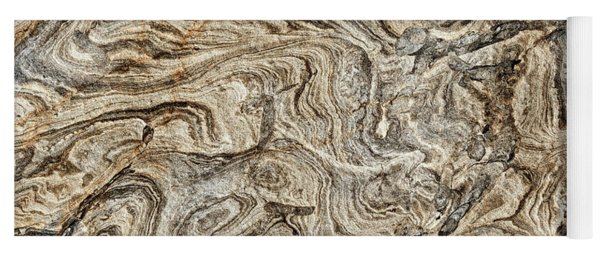 Sandstone Abstract Yoga Mat