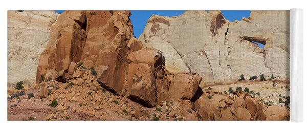 Sandstone Arch At Capitol Reef Yoga Mat
