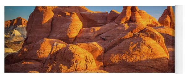 Sandstone Castle Yoga Mat