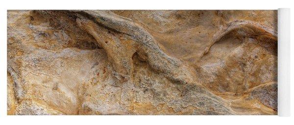 Sandstone Formation Number 4 At Starved Rock State Yoga Mat