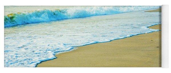 Sandy Hook Beach, New Jersey, Usa Yoga Mat