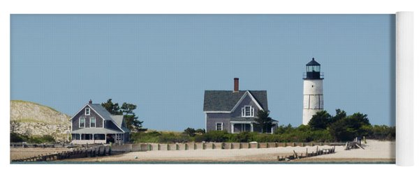 Sandy Neck Light Early June Yoga Mat