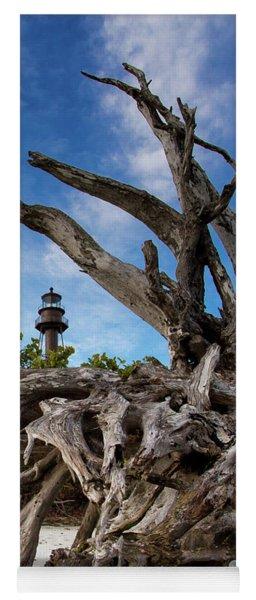 Sanibel Lighthouse Yoga Mat