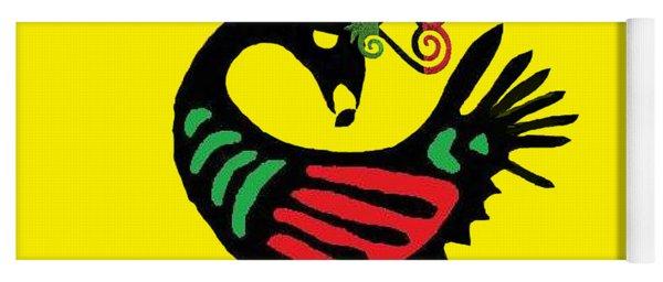 Sankofa Bird Yoga Mat
